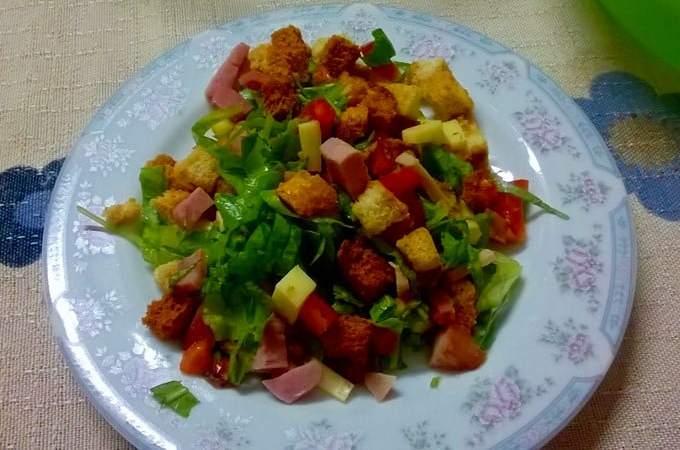 Salada da Eloah e do Augusto