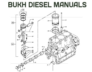 BUKH diesel engine spare parts