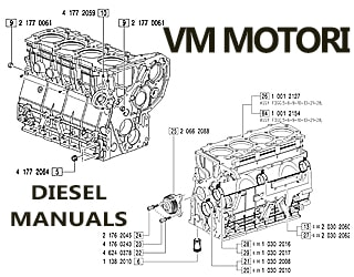 VM MOTORI diesel engine spare parts
