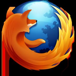 logotiupo del navegador de Mozilla, Firefox