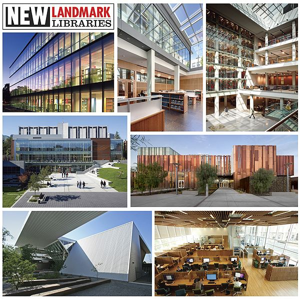 New Landmark Libraries 2012: Academic Library Winners and Honorable Mentions