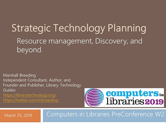 Strategic Technology Planning