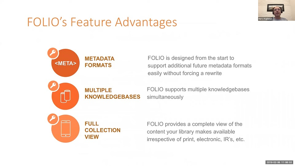 FOLIO advantages
