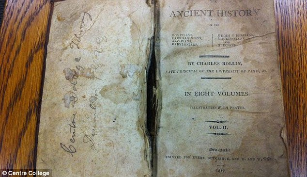 Overdue library book returned to Kentucky college 150 YEARS after it was checked out