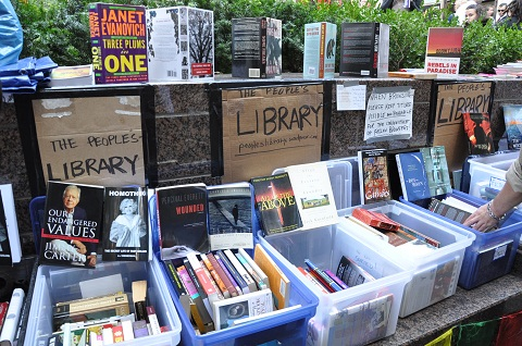 Occupy Wall Street Library—The People's Library