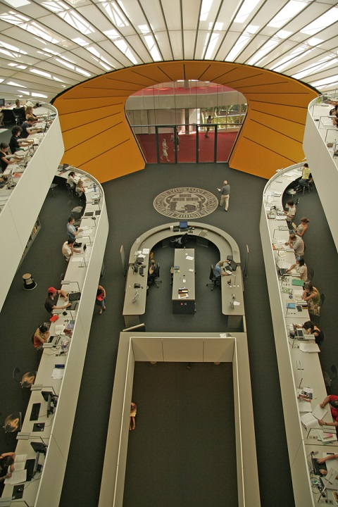 The Philological Library at the University of Berlin