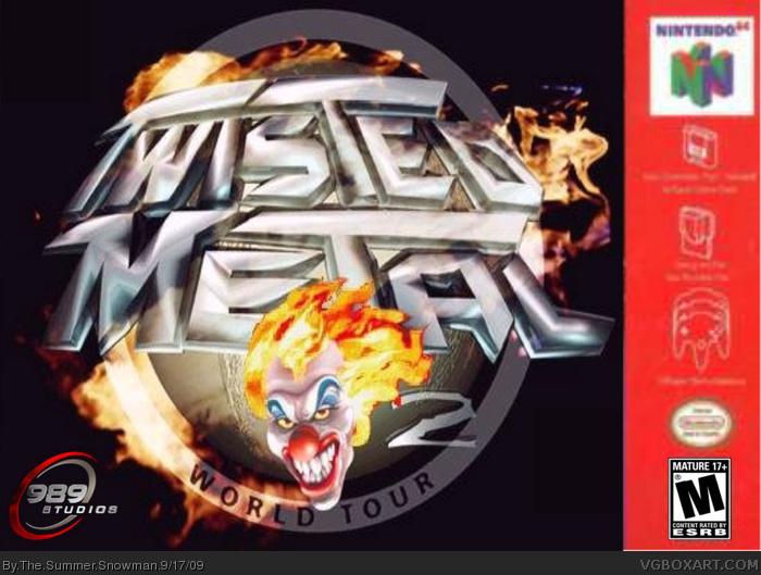 twisted metal 2 world
