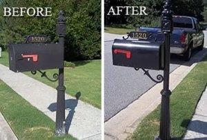 mailbox repair service