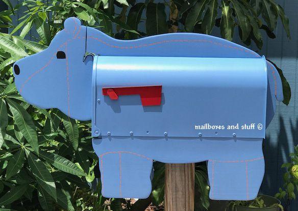 hippo mailbox