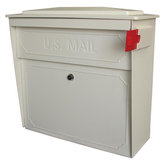 Locking Wall Mount Mailbox