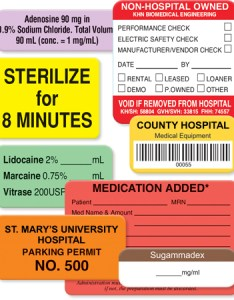 Custom healthcare labels also united ad label rh unitedadlabel