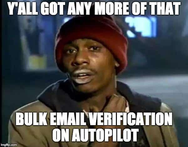 Crack - email verification on autopilot