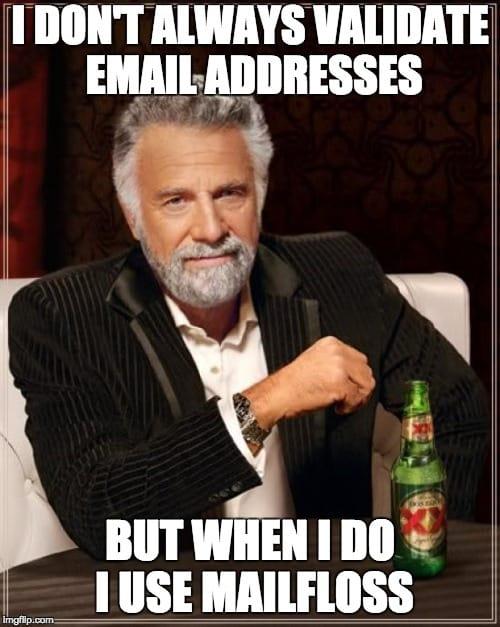 dos equis verify email addresses
