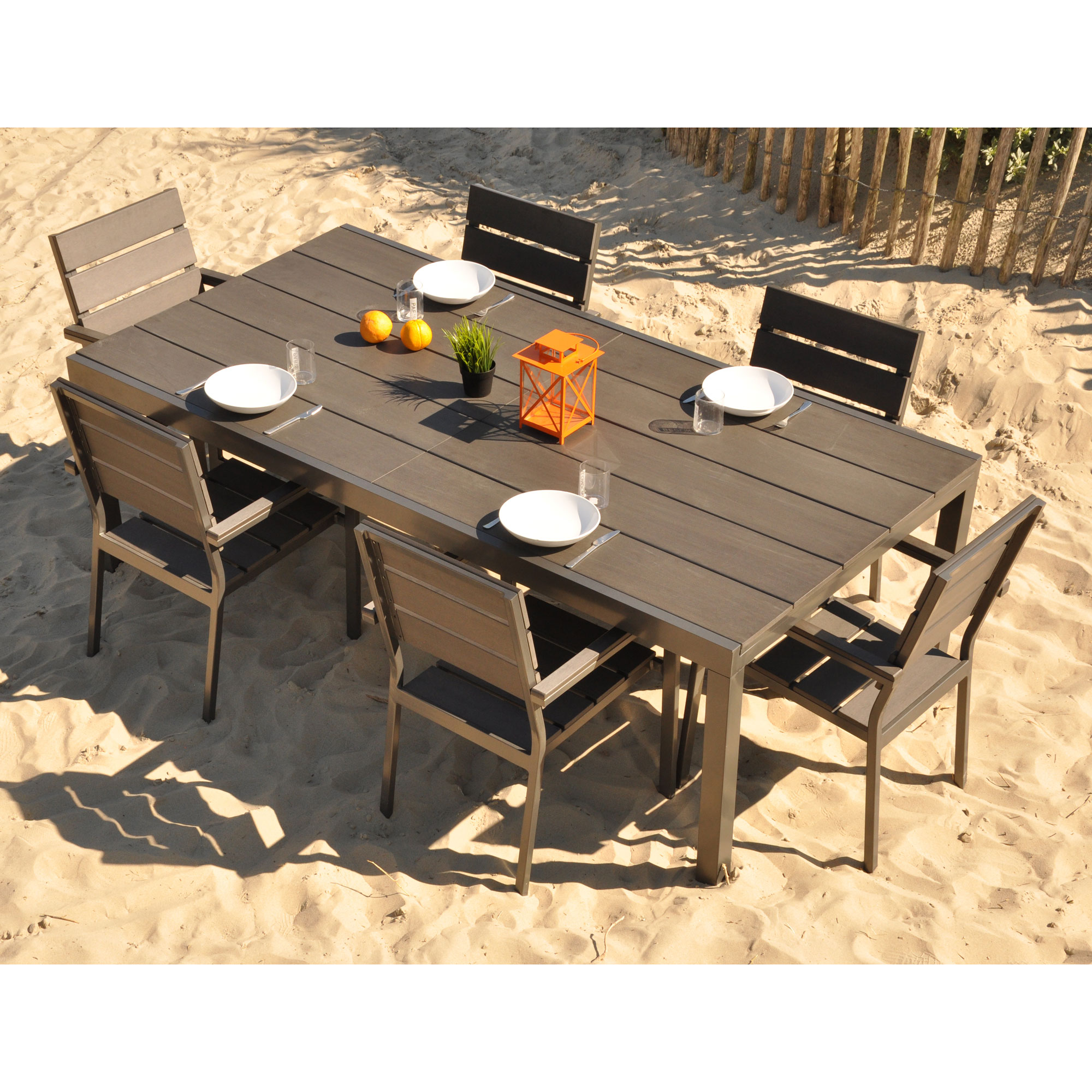 Awesome Table De Jardin Pvc Occasion Contemporary - House Design ...