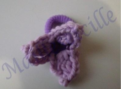 élastique violet