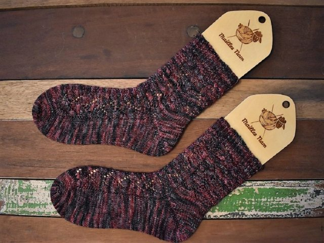 tricot chaussettes Fawkes 2