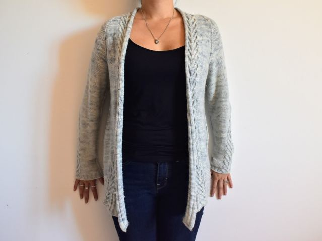 Mailles Nam Tricot Gilet Cardigan Ink 1
