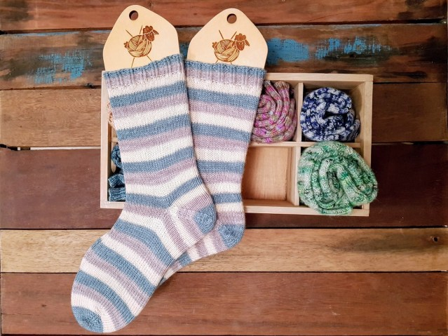 Tricot Chaussettes Stray Cat 1