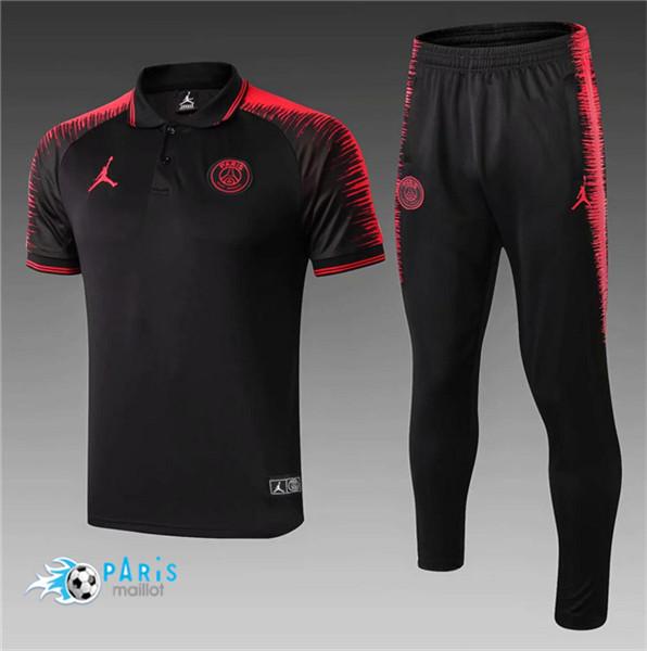 maillotparis maillot foot psg jordan polo training noir rouge strike drill 2018 19 eur 20 00
