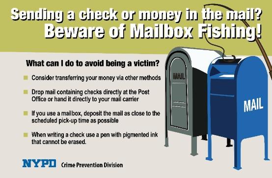 NY Cops - Mailbox