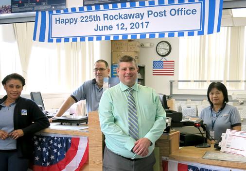 Rockaway Post Office 225 anniversary
