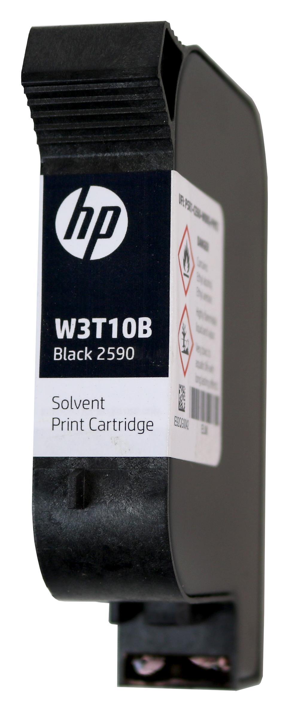 HP2590 Black Solvent ink