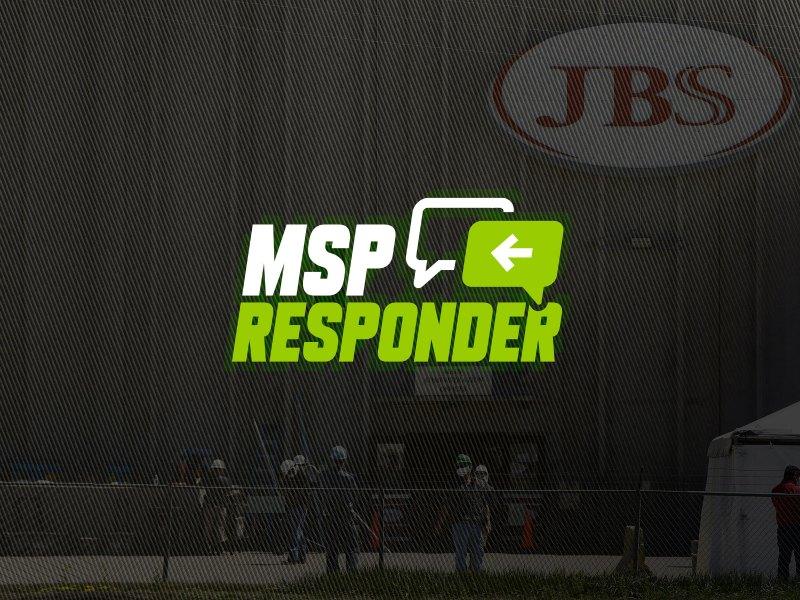 jbs, ransomware attack, msp responder