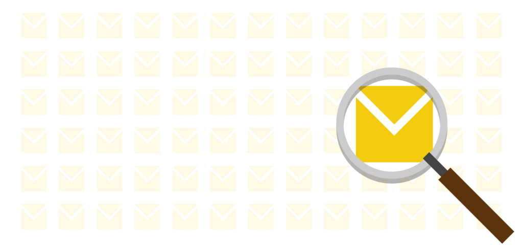 Email archiving with rapid search tools
