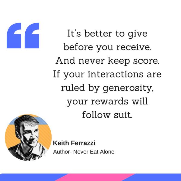 Keith Ferrazzi quotes
