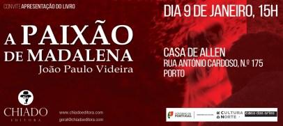 ConviteAPaixaoDeMadalena-Porto