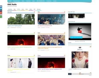 Site internet KMC Radio