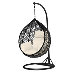 Hanging Chair Christchurch Covers For Lazy Boy Recliners Steel Egg • Grabone Nz