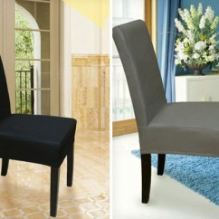 Stretch Dining Chair Covers Stainless Steel Hsn Code 2 Grabone Nz 18 For Two Protector Available In Four Colours Incl Free Nationwide Shipping