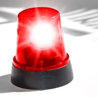 Feuerwehreinsatz wegen roter Farbe im Regenwasser