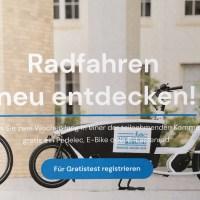 Kostenloser Test von E-Lastenrädern in Frankfurt