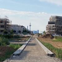 Der letzte Riedberg-Park ist im Zeitplan
