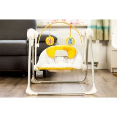 Baby Chair Swinging Model No Ts Bs 16 Folding Leg Protectors Kinderkraft Nani Yellow Bouncing Swing Seat