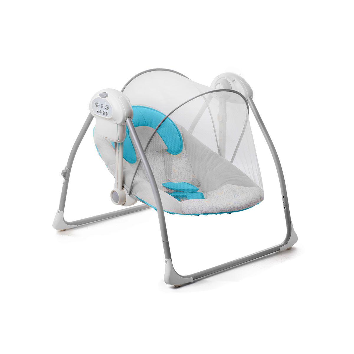 baby chair swinging model no ts bs 16 wedding covers pontefract kinderkraft nani blue bouncing swing seat