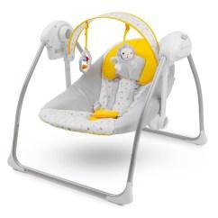 Baby Swing Chair Qatar Covers Hire Hull Kinderkraft Nani Yellow Bouncing Seat