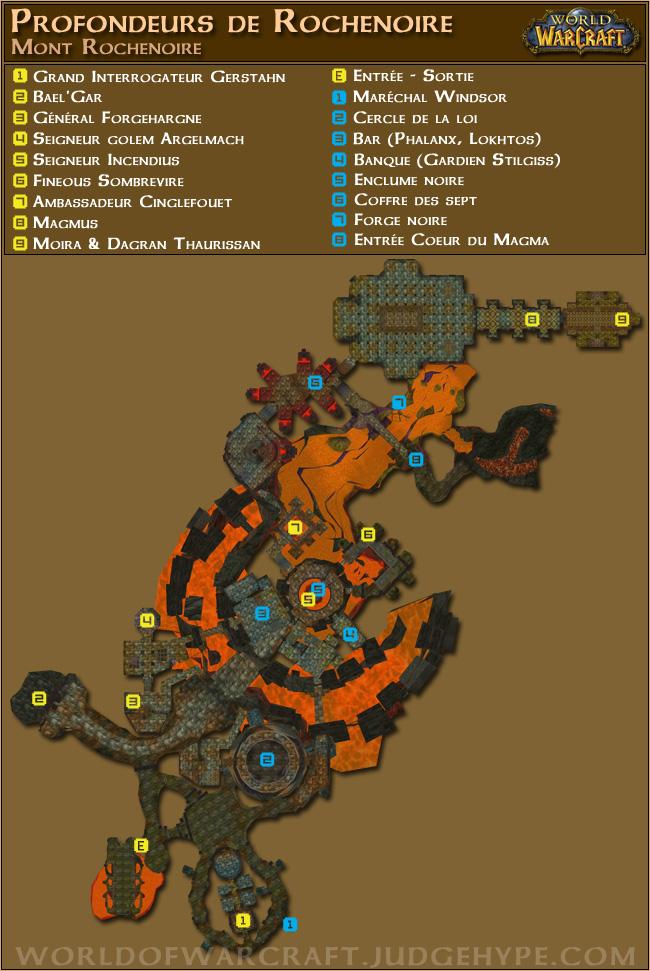 Les Profondeurs De La Forge : profondeurs, forge, Guide, Profondeurs, Rochenoire, World, Warcraft, Classic, JudgeHype