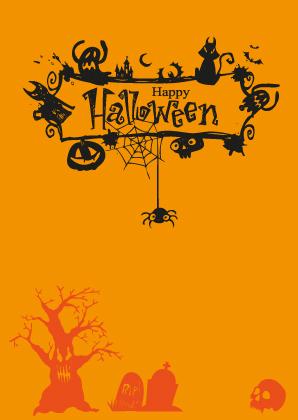 Halloween Letterpress Design