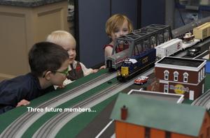 National Train Day, Brunswick, May, 2014