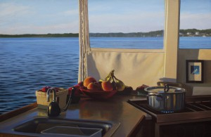 Hoyt_Topside Galley_oil_15x23