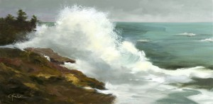 Hicks_The Breakers_Oil_20x40
