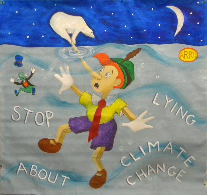 stop lying about climate change 1