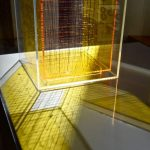 Leo Rabkin, Untitled, c. 1965, plexiglass and copper wire, photo by Danielle Frye