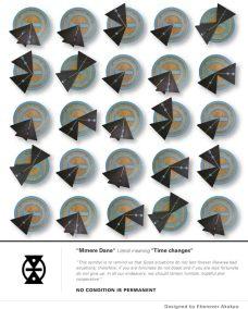 Ebenezer-Akakpo, Time-Changes, Mixed Media, 31X31, 2018