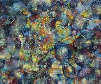 Yelena Fiske, Invasion, Oil on Canvas, 30X36, Spring 2014