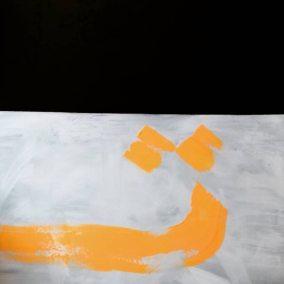Ripton 7 Kifah Abdulla  Mystery 1  Acrylic on Canvas 48X72 2018 copy