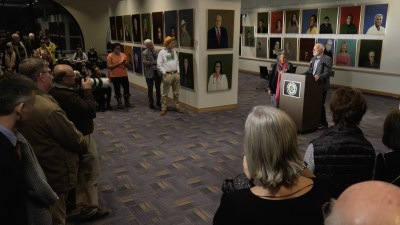 Robert Shetterly — Reflections on Portrait Exhibit